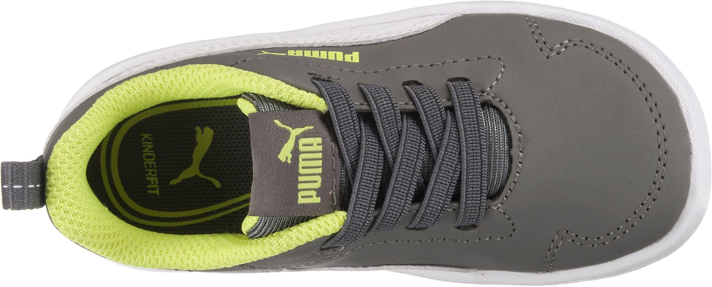 'courtflex In Sneakers Puma GrauNeongrün Inf' Weiß 0yvnwmN8O