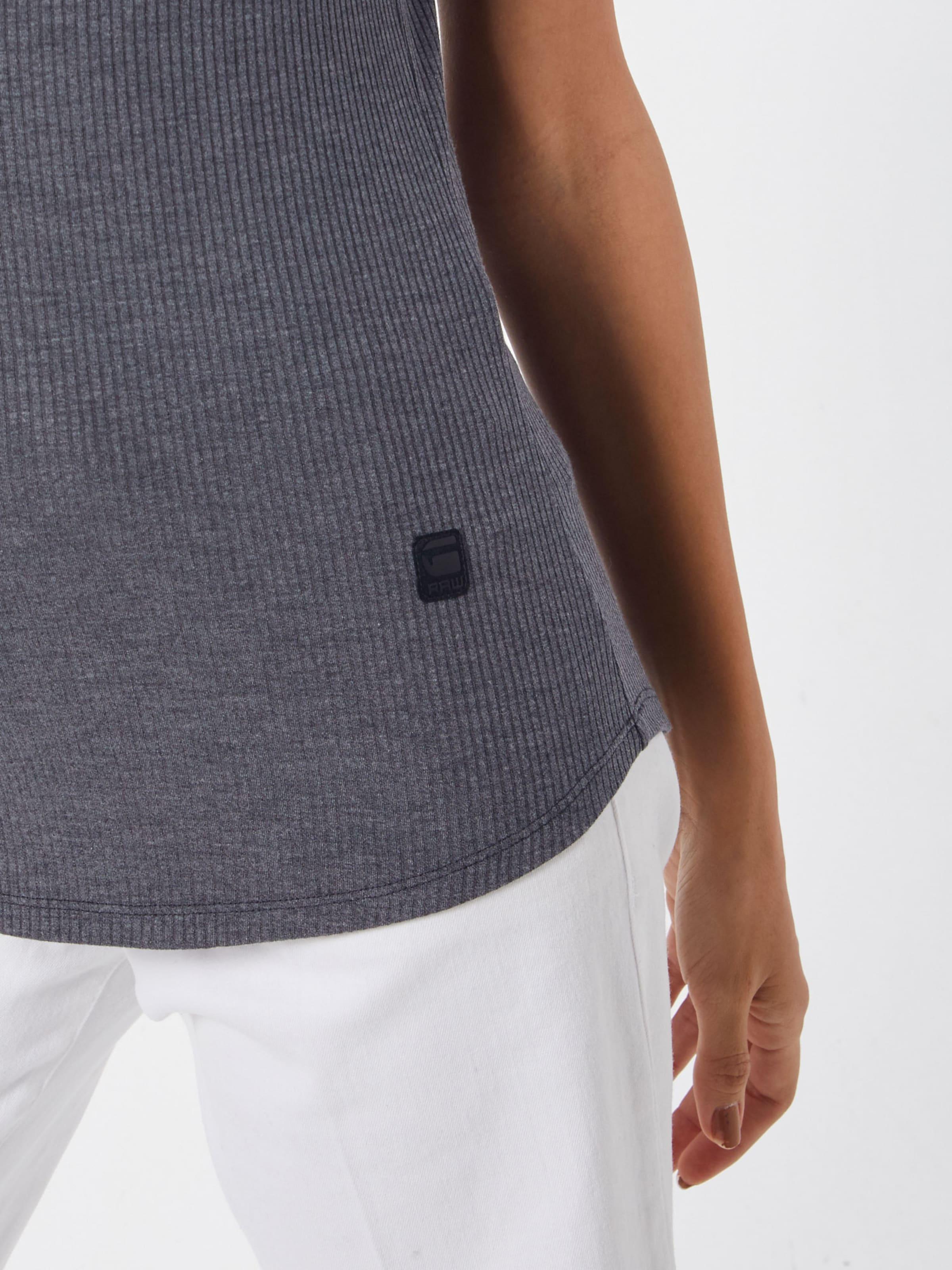 Raw Dunkelgrau Slim' star shirt In G T 'mysid 80PXwnOk