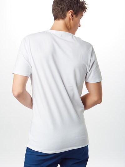 SELECTED HOMME Koszulka 'V-NECK TEE B NOOS' w kolorze białym: Widok od tyłu