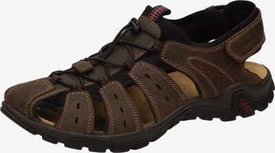 SIOUX Sandale 'Upendaro-702' in kastanienbraun, Produktansicht