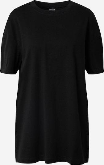 Urban Classics Shirt 'Ladies Oversized Boyfriend Tee' in schwarz, Produktansicht