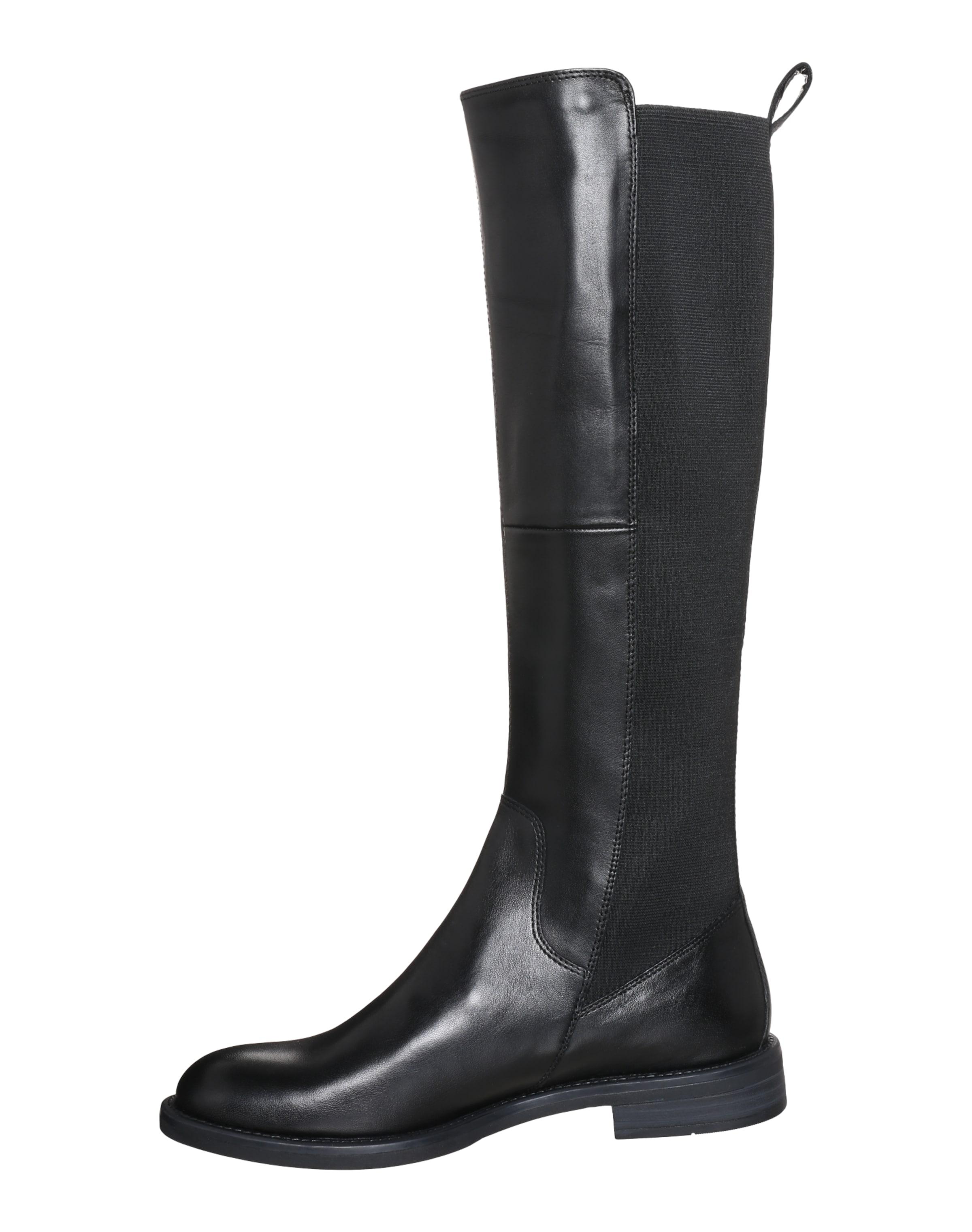 Shoemakers In Vagabond Schwarz Langschaftstiefel 'amina' c45SjLqA3R