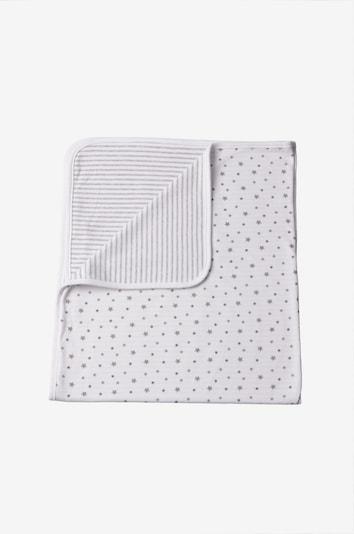 LILIPUT Babydecke in grau / weiß, Produktansicht