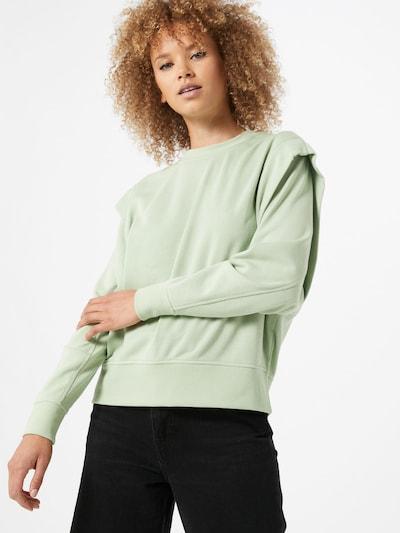VERO MODA Mikina 'Willow' - pastelově zelená: Pohled zepředu
