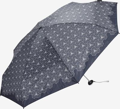 KNIRPS Regenschirm 'X1 Lotus' in grau / schwarz, Produktansicht