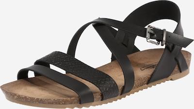 MUSTANG Sandały w kolorze czarnym, Podgląd produktu
