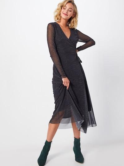 SOAKED IN LUXURY Sukienka 'Jewel' w kolorze czarnym: Widok z przodu
