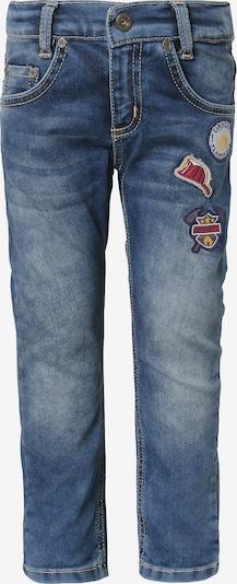 SALT AND PEPPER Jeans mit Patches in blau, Produktansicht