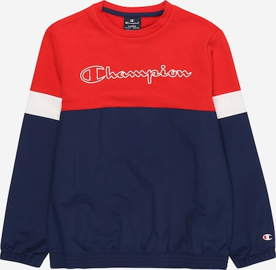 Champion Authentic Athletic Apparel Sweat en bleu marine / rouge, Vue avec produit