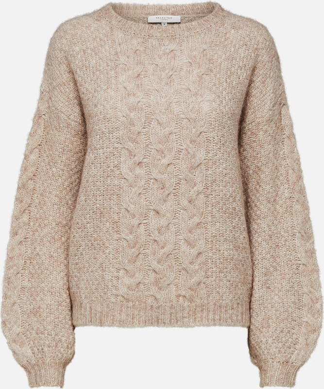SELECTED FEMME Wollmix-Strickpullover