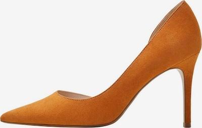 MANGO Pumps 'Audrey' in de kleur Sinaasappel, Productweergave