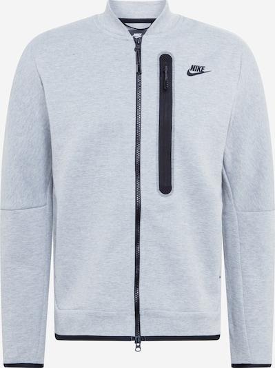 szürke melír / fekete Nike Sportswear Tréning dzseki, Termék nézet