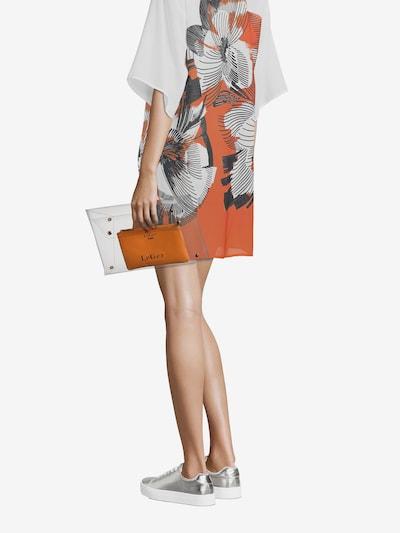 LeGer by Lena Gercke Pochette 'Elaine' en orange / transparent, Vue avec modèle