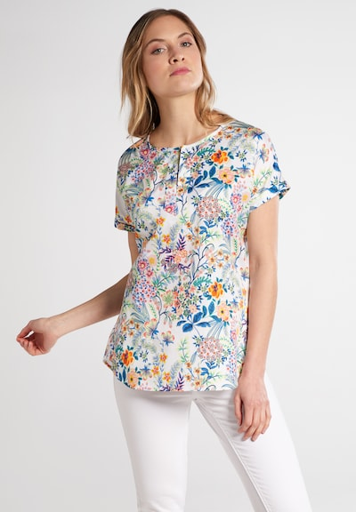 ETERNA Bluse in mischfarben: Frontalansicht