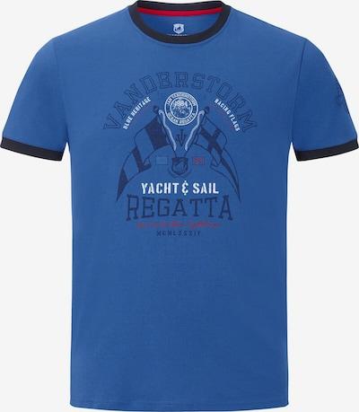 Jan Vanderstorm T-Shirt 'Rael' in blau / schwarz, Produktansicht