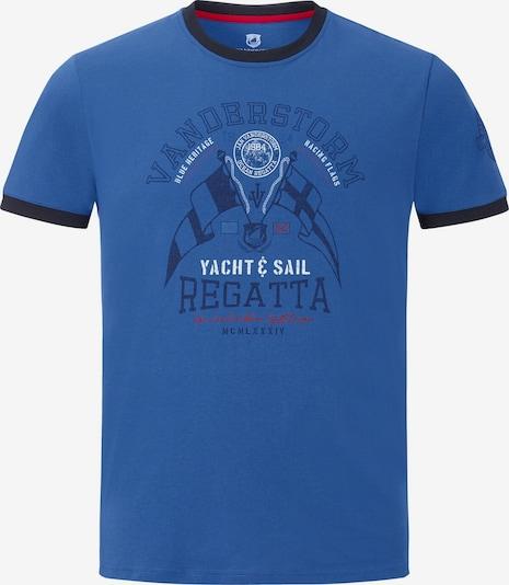 Jan Vanderstorm Shirt 'Rael' in Blauw / Zwart Fd6tzSmx