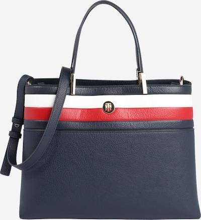 TOMMY HILFIGER Tasche 'CORE SATCHEL CORP' in dunkelblau / rot / weiß, Produktansicht
