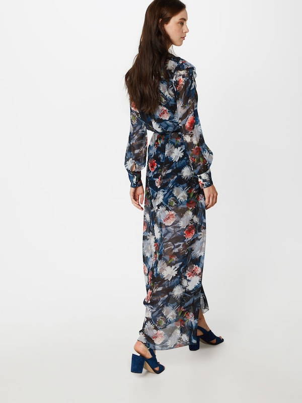 Postyr En BleuGris 'poselenea' Clair Robe Blanc Noir Rouge EIH9WD2