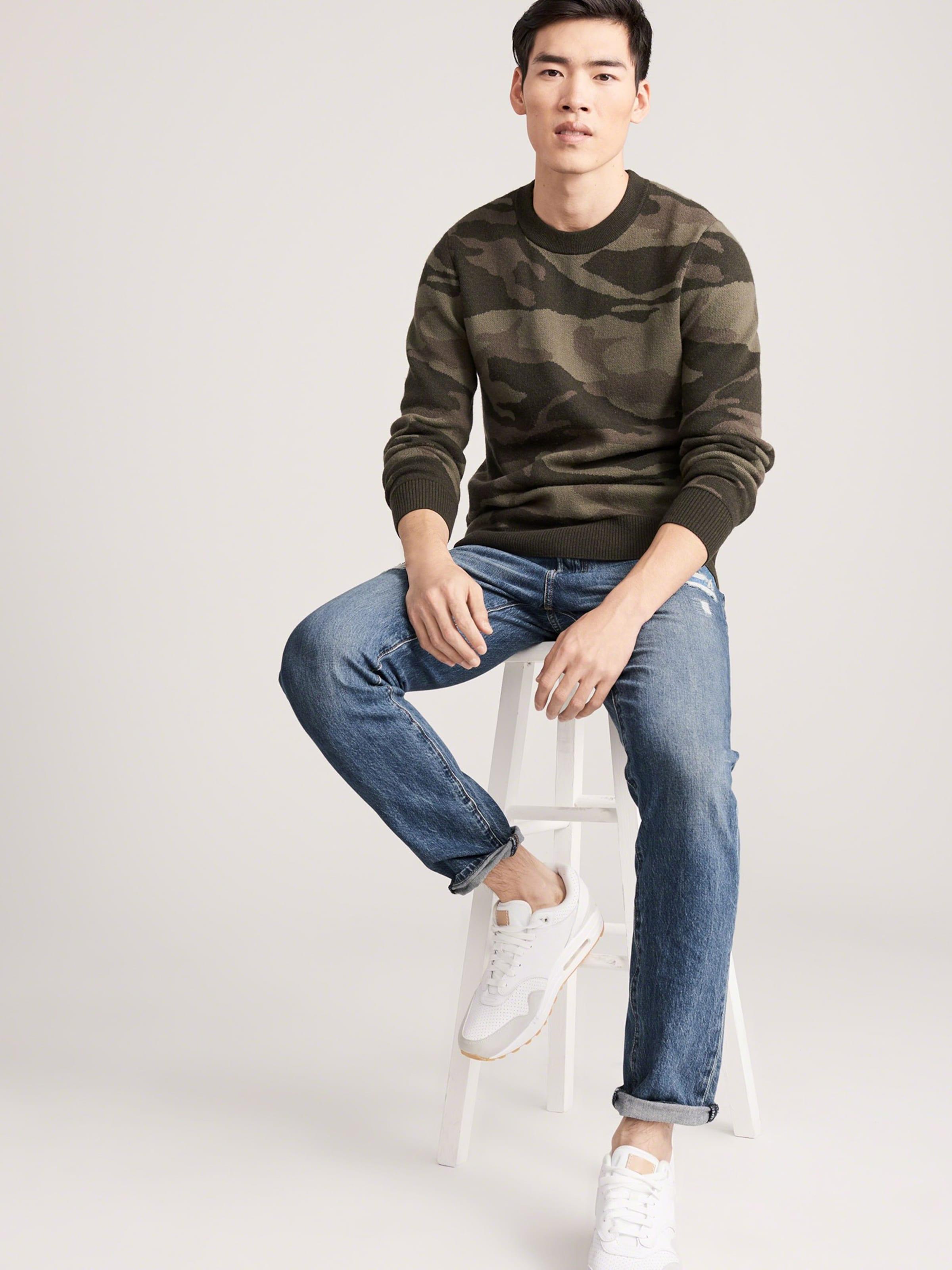 Fitch Denim Jeans In Blue Med Abercrombieamp; 'skinny Dest' Fl1JTKc
