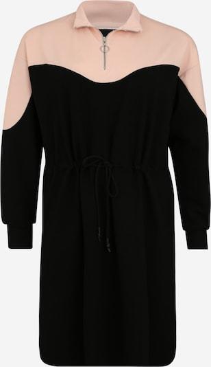 Zizzi Šaty 'MLENA' - ružová / čierna, Produkt