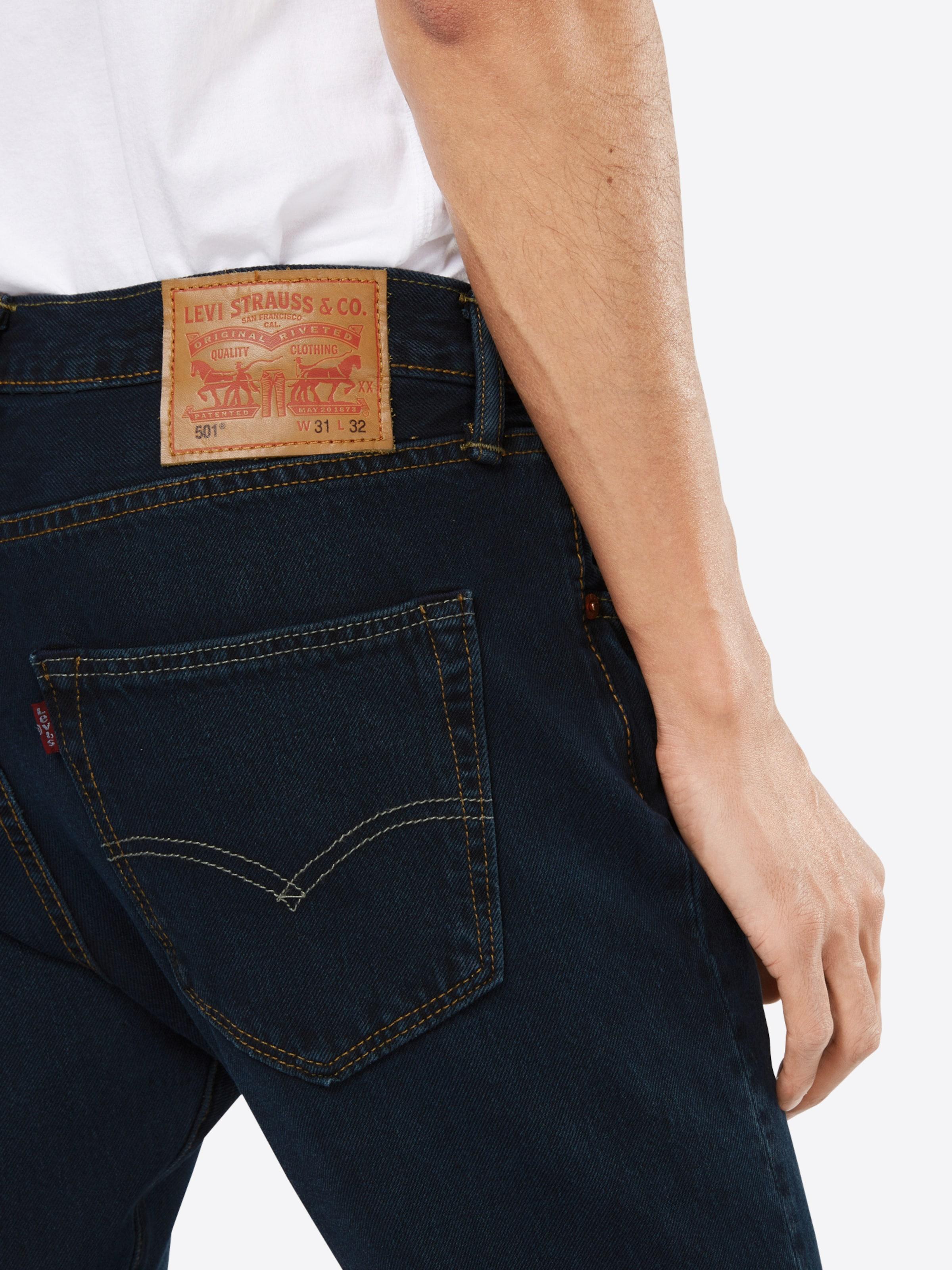 LEVI'S Jeans '501 ORIGINAL FIT' Genießen Sie Online xh7S29O