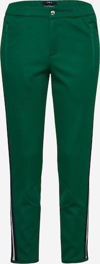 SET Spodnie w kolorze ciemnozielonym: Widok z przodu