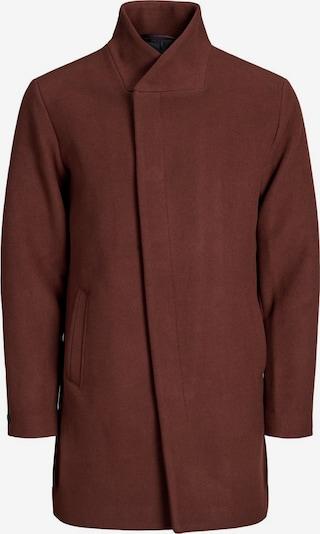 JACK & JONES Winterjas in de kleur Roestbruin, Productweergave