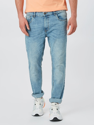Hailys Men Jeans 'Nero' in blue denim, Modelansicht