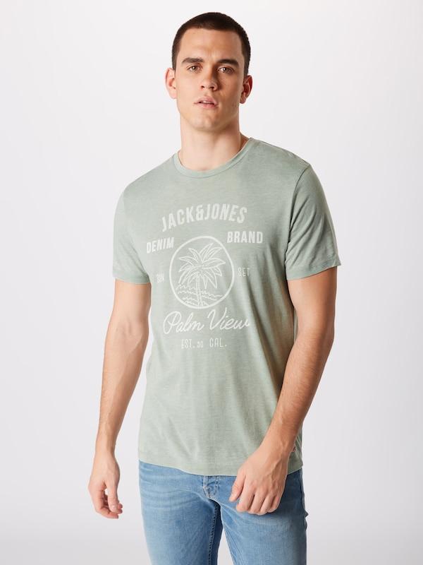 T 'jornewhero' ClairBlanc Jones Jackamp; Vert En shirt ONnZ8wkX0P