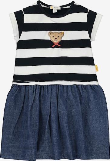 STEIFF Kleid in blau / weiß, Produktansicht
