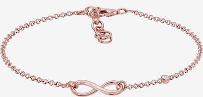 ELLI PREMIUM Armband 'Infinity' in rosegold, Produktansicht