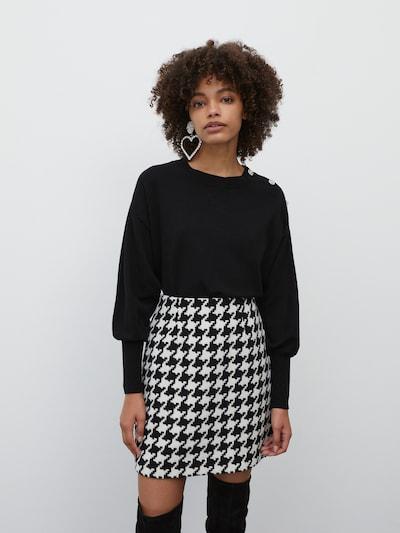 EDITED Pullover 'Lavinia' in schwarz, Modelansicht