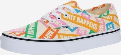 VANS Sneakers laag 'Authentic' in de kleur Gemengde kleuren / Wit, Productweergave