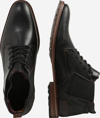 Suvarstomieji batai iš BULLBOXER , spalva - juoda: Vaizdas iš šono