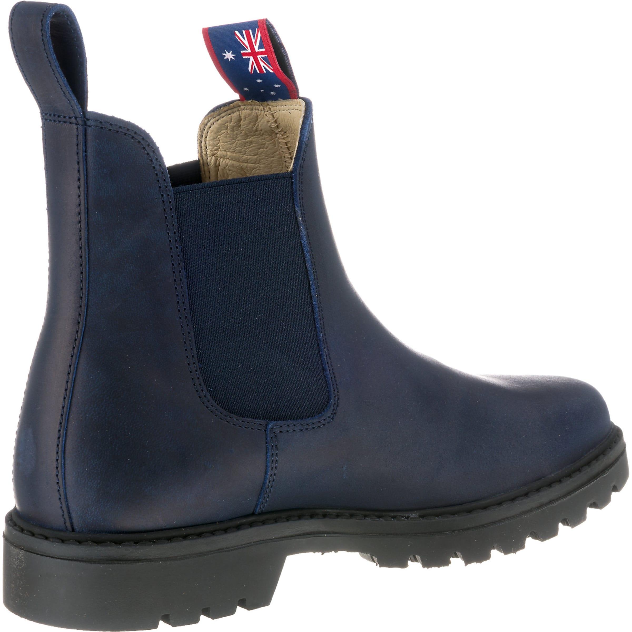 Schwarzmeliert Blue NavyRot Heeler Weiß Boots In 'meryl' Chelsea wPX8n0kO