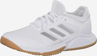ADIDAS PERFORMANCE Sportschoen 'Court Team Bounce' in de kleur Zilver / Wit, Productweergave
