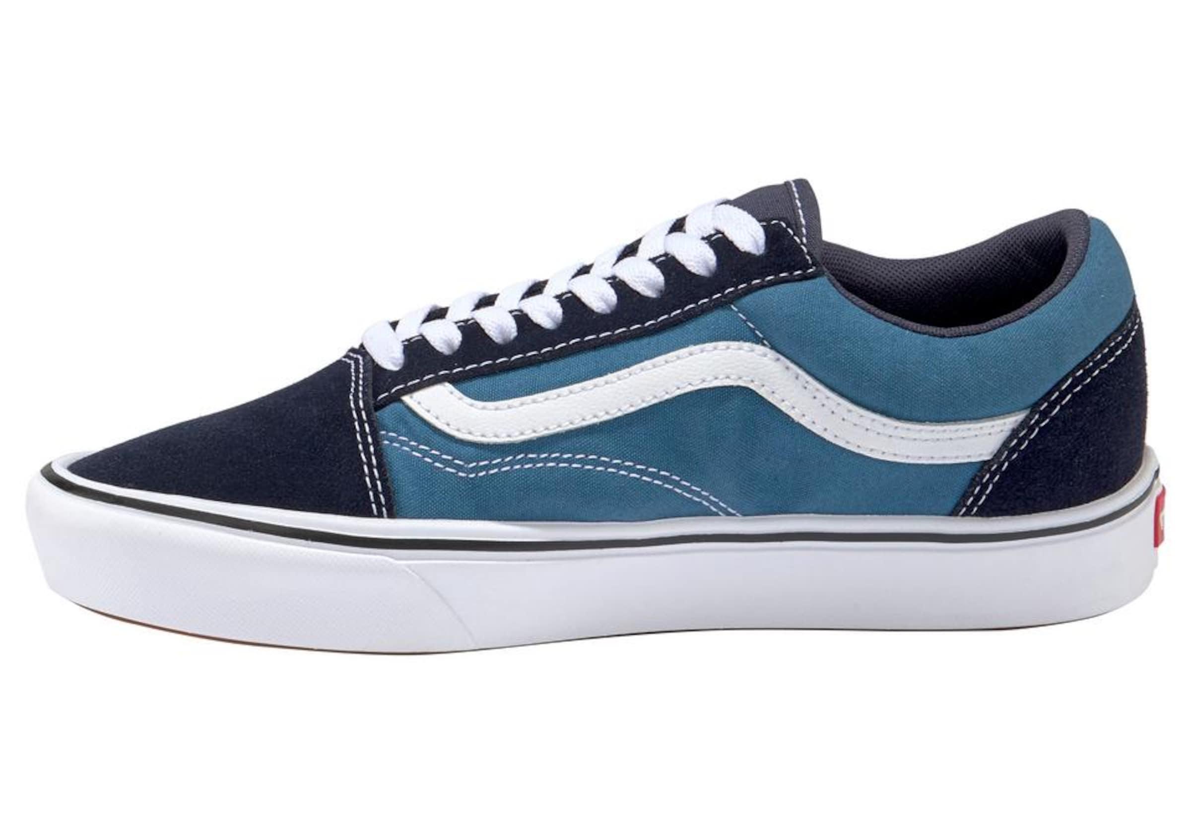 'comfy In Old Sneaker Vans Cush Skool' NachtblauHimmelblau Weiß UqSzMVp
