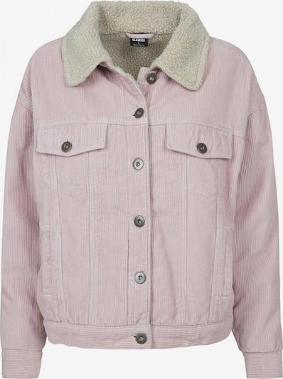 Urban Classics Curvy Jacket in rosa, Produktansicht