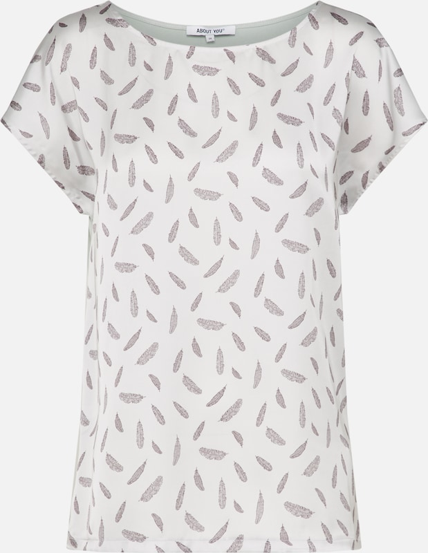 Naturel T shirt 'fanie' En MentheBlanc ZkiuPX