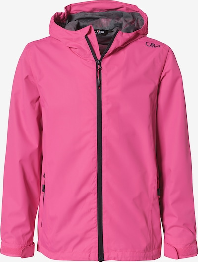 CMP Outdoorjacke in dunkelgrau / pink / schwarz, Produktansicht