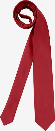 BRUNO BANANI Krawatte (Set mit Einstecktuch) in rot, Produktansicht