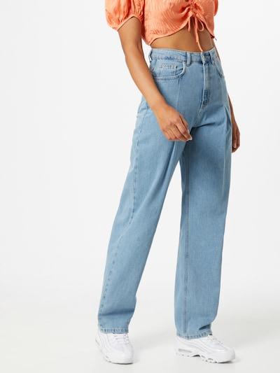 NA-KD Jeans in blue denim, Modelansicht