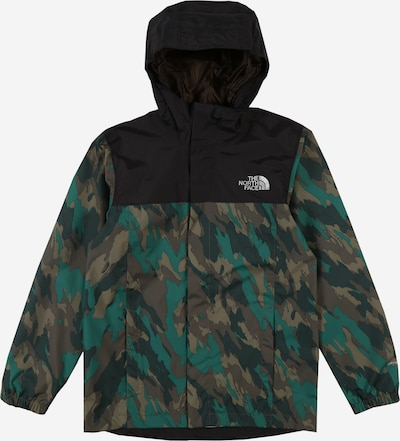 THE NORTH FACE Jacke 'RESOLVE' in grün / khaki / schwarz, Produktansicht