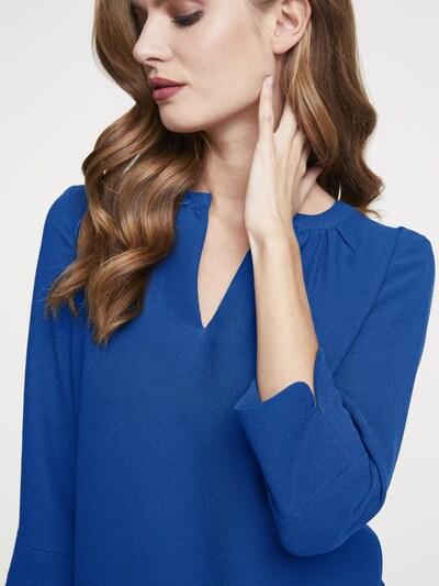 heine Chiffonkleid 'TIMELESS' in blau / rot / schwarz, Produktansicht
