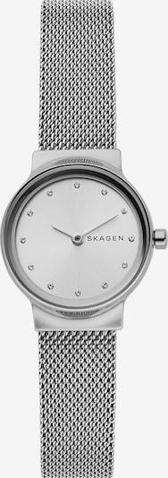 SKAGEN Uhr in schwarz / silber / weiß, Produktansicht