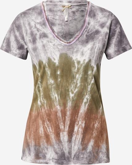 Key Largo Shirt 'WOODSTOCK' in Blauw / Gemengde kleuren aANbbv1A