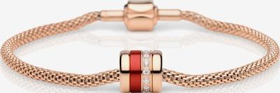 BERING Armband in rosegold / rot, Produktansicht