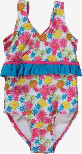 PLAYSHOES UV-Schutz Badeanzug mit BLUMEN für Mädchen in pink, Produktansicht