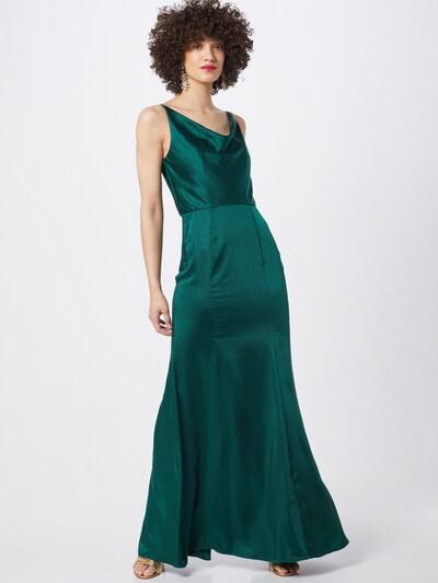 Chi Chi London Kleid in grün, Modelansicht