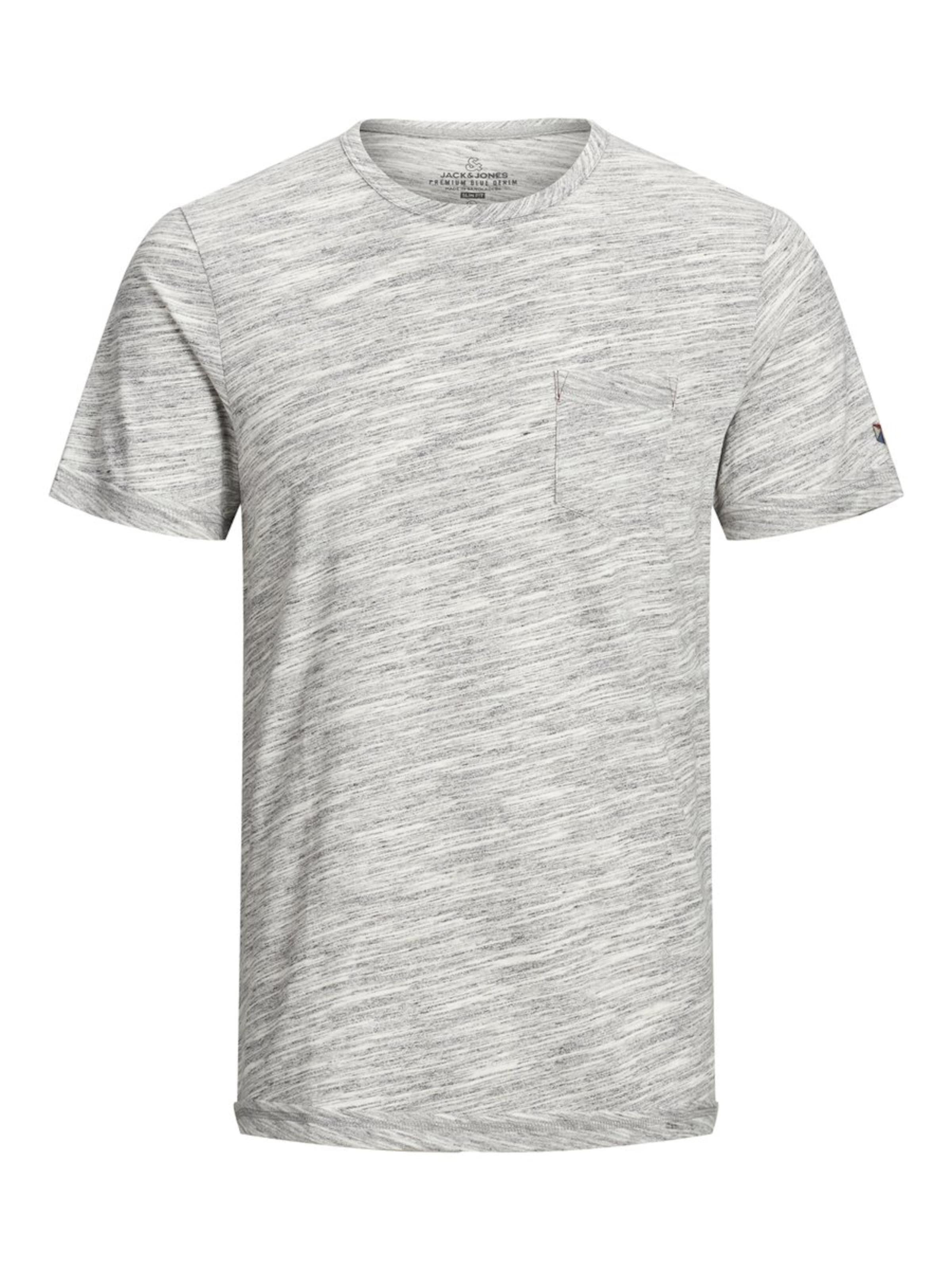 T Jackamp; Chiné shirt Jones En Gris OkwPnN8X0